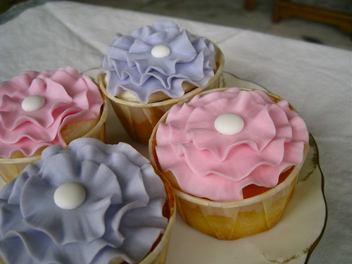 Frilly cupcakes