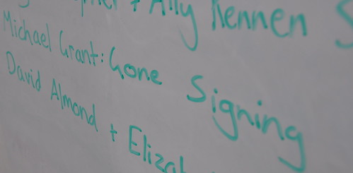 Gone signing