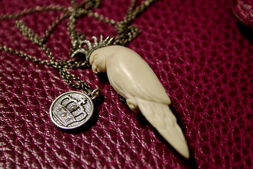 Monday: Parakeet Necklace!!