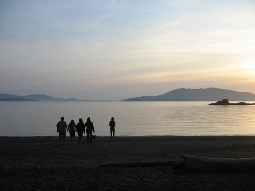 Larabee Sunset with Friends