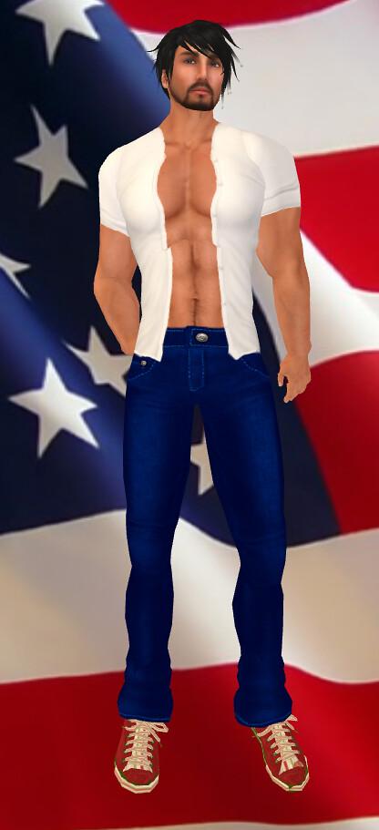 AQUA - Mens - Slade Jeans/Open Shirt - 4th LE