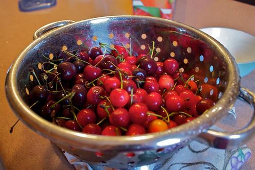 Roadside Cherries