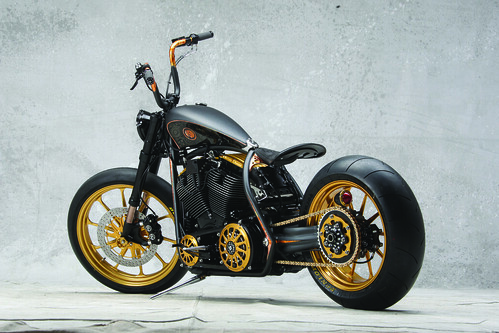 ROLAND SANDS DESIGN - Black Beauty, Modified Harley