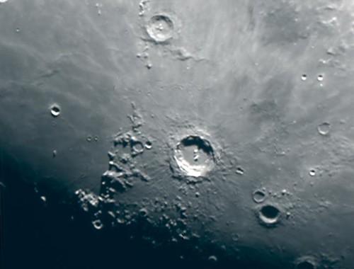 Copernicus Crater on 7/20/10