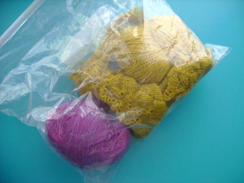 goodbye shetland tea shawl
