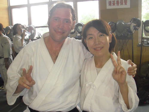 Aikido in Shanghai - Waka-san