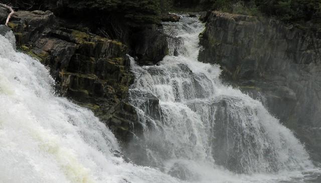Kwasitchewan Falls Hike - Falls Close Up