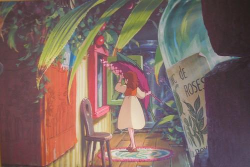 Arrietty postcard