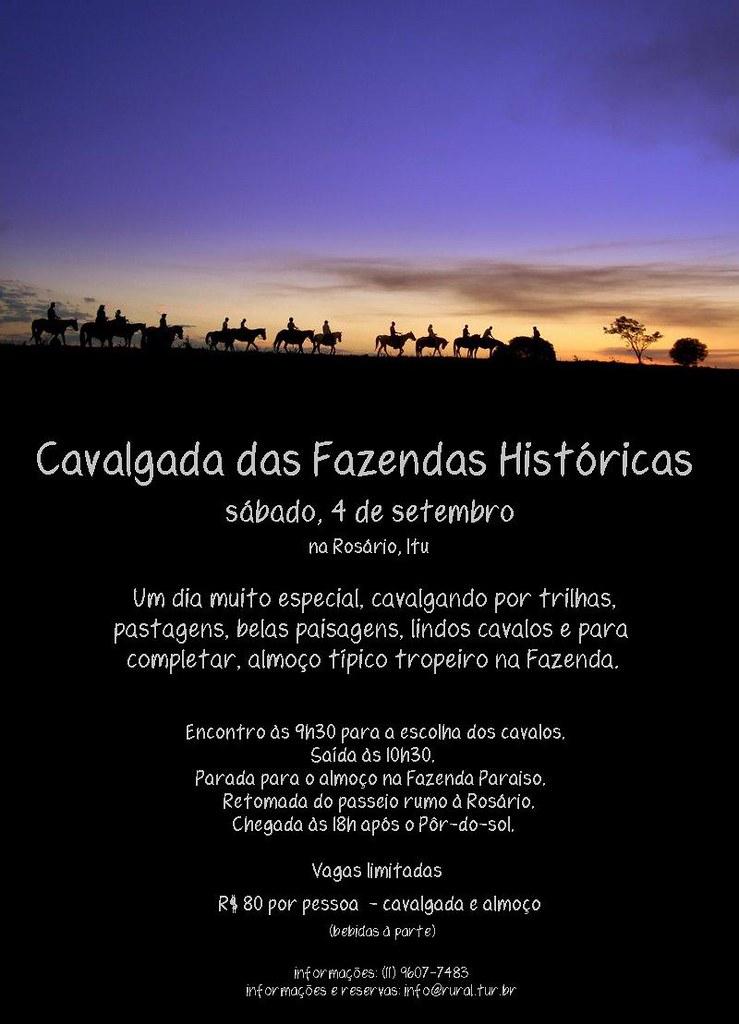 Cavalgada das Fazendas Históricas