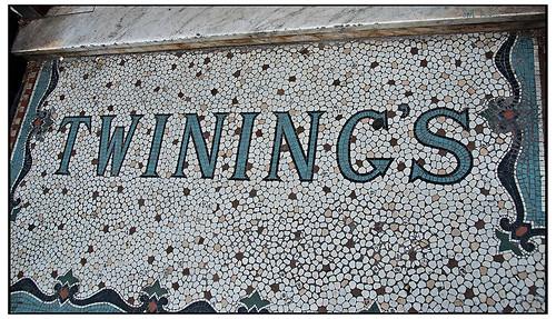 Twining's Entryway Terrazzo