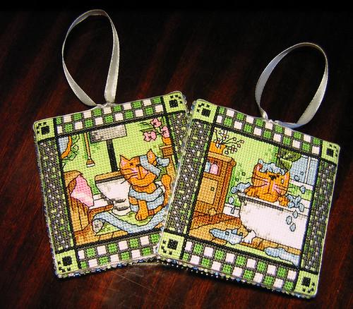 Jautro kaķēnu dekori