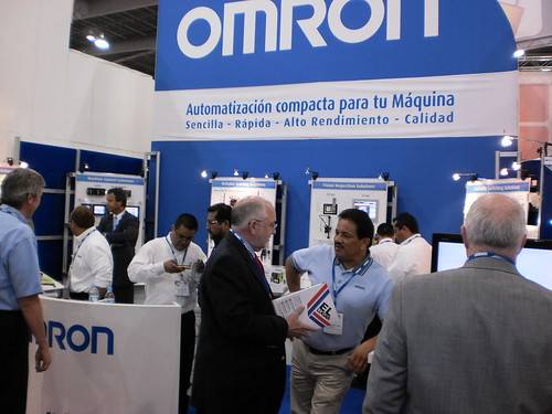 Omron stand Expopack