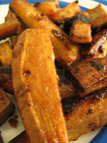 sweet sweet potato wedges
