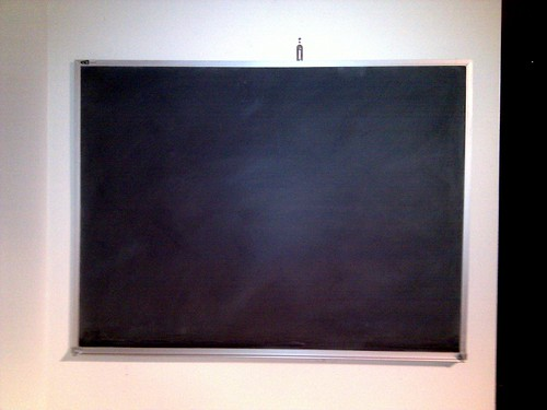 How to break in a new chalkboard