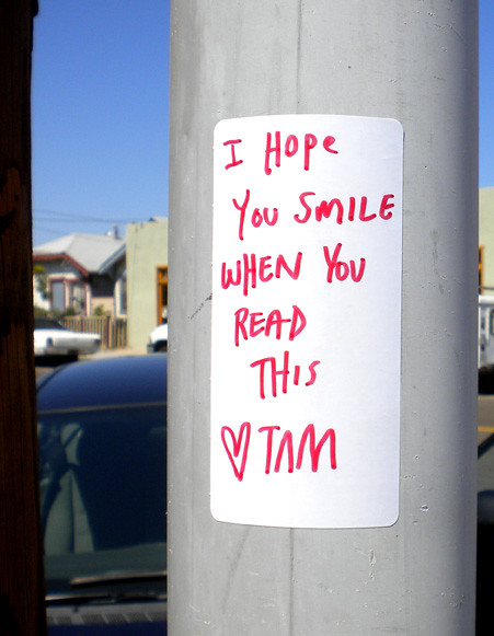 TAM hope you smile