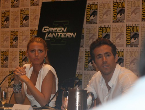 Blake Lively and Ryan Reynolds at Comic-Con