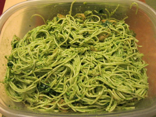 Chicken/Spinach Pesto Capellini in Container