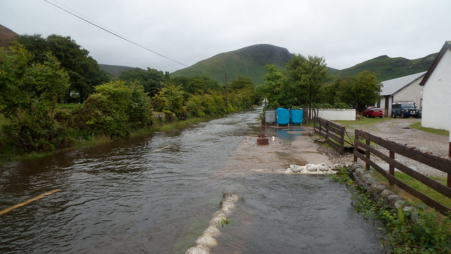 Flooding in Lochranza