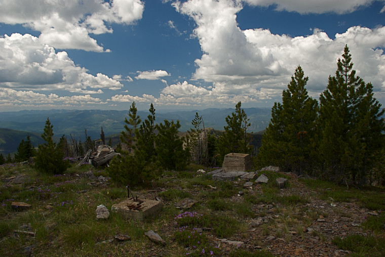From the top of Thompson Peak