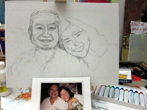 portrait - mom and dad (unfinished)4