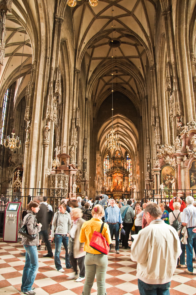 Inside St Stephen's Cathedral