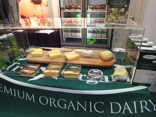 True Organic cheeses