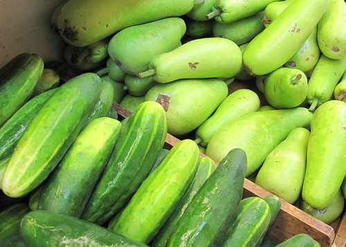 Cucumbers and ?