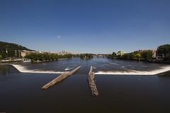 Vltava River Weir