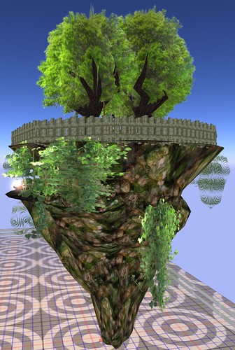 -DeminAtions- Floating Island little garden in the sky (3)