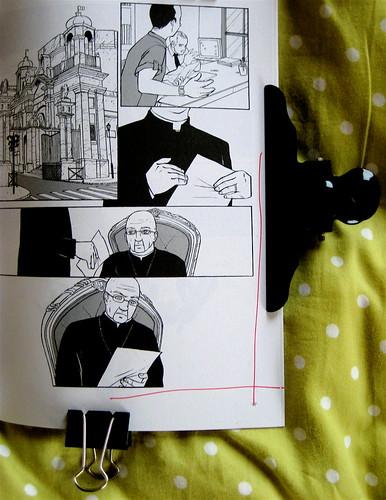 Non ti avevo nemmeno notato, di Sandro Campani (testo) e Daniele Coppi (disegni), Playground 2010; graphic designer: Federico Borghi , p. 97 (part.), 1