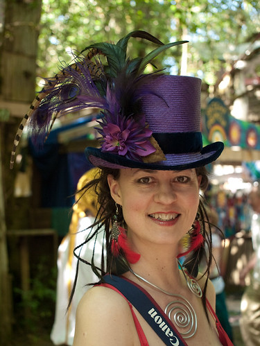 Cindia in a Bo Peep Top Hat