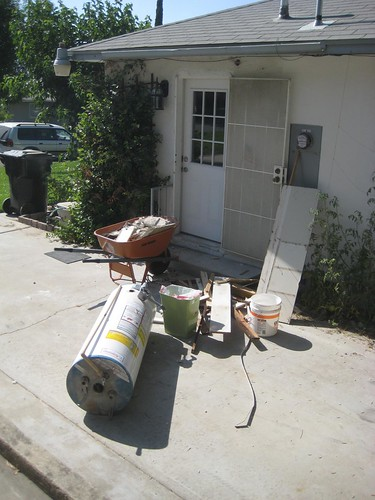 water heater demolition, pt.6