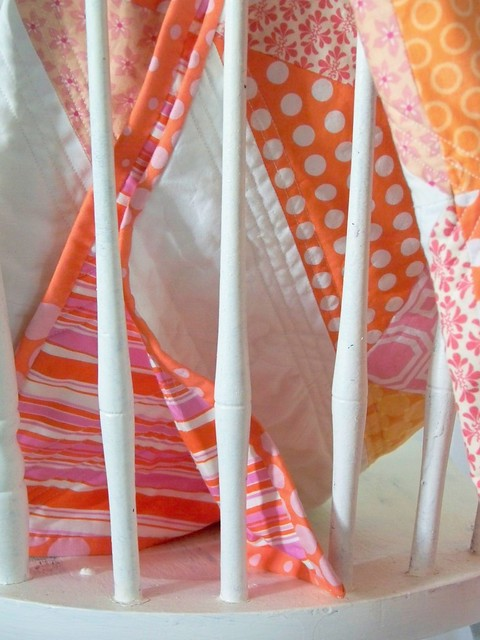 photograph pink orange quilt