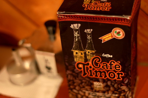 Monday: Coffee all the way from Timor-Leste