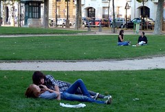 couples in park