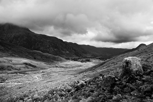 Great Langdale B&W