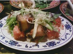 Pork & watermelon