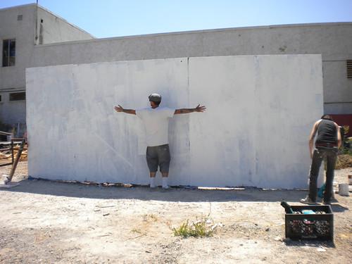 day 8 wall hugger