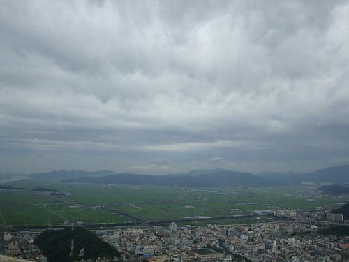 Warten auf den Taifun