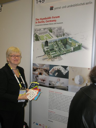 """""""The Humboldtforum in Berlin - planning cooperation between library and museum"""" Presenter: Claudia Lux, Germany"""