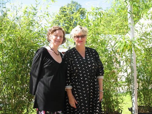 Eleanor Updale and Sally Gardner