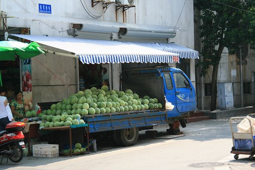 Watermelons for sale