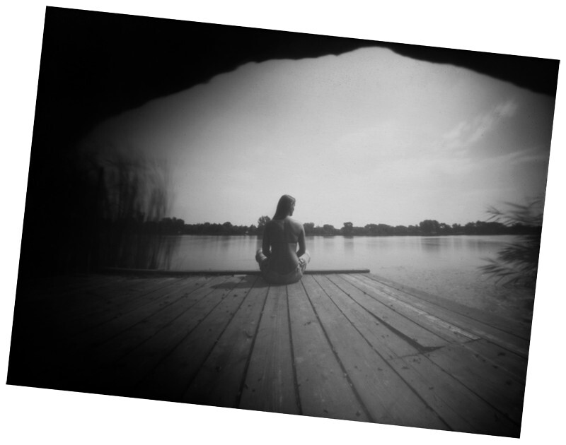 clam pinhole photograph