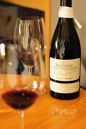隆河區紅酒 2007