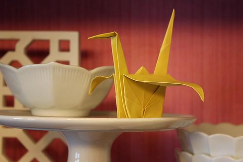 paper cranes, theomama
