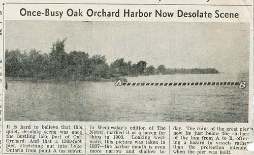 Oak Orchard Harbor 1948