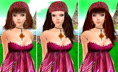 Amacci New Hairstyles (Cora, Courinne, Coleen)