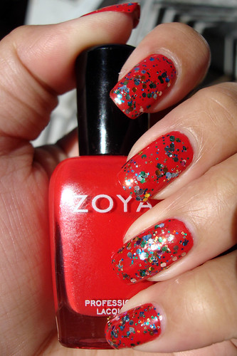 Lippmann Happy Birthday over Zoya America