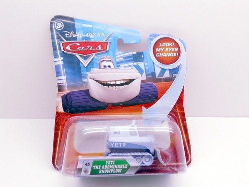 disney cars lenticular Yeti the abominable snow plow (1)