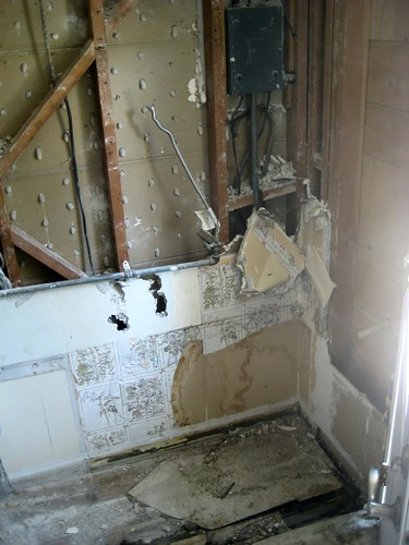 water heater demolition, pt.4